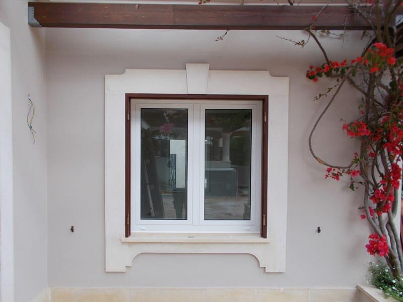 fenetre bois blanc elegant panneaux fixe en bois blanc de style with fenetre bois blanc. Black Bedroom Furniture Sets. Home Design Ideas