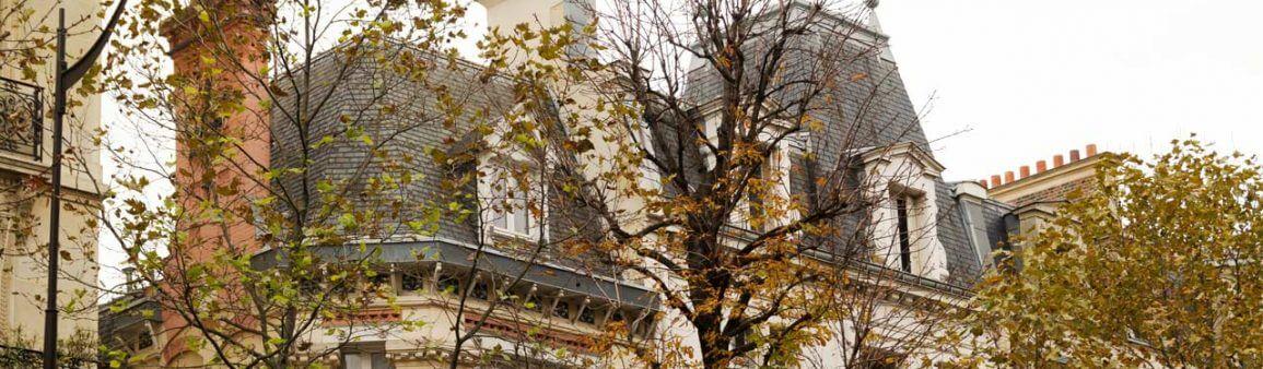 Rue à Paris France