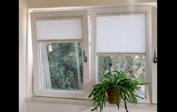 Fenêtre en PVC oscillo-battante blanche