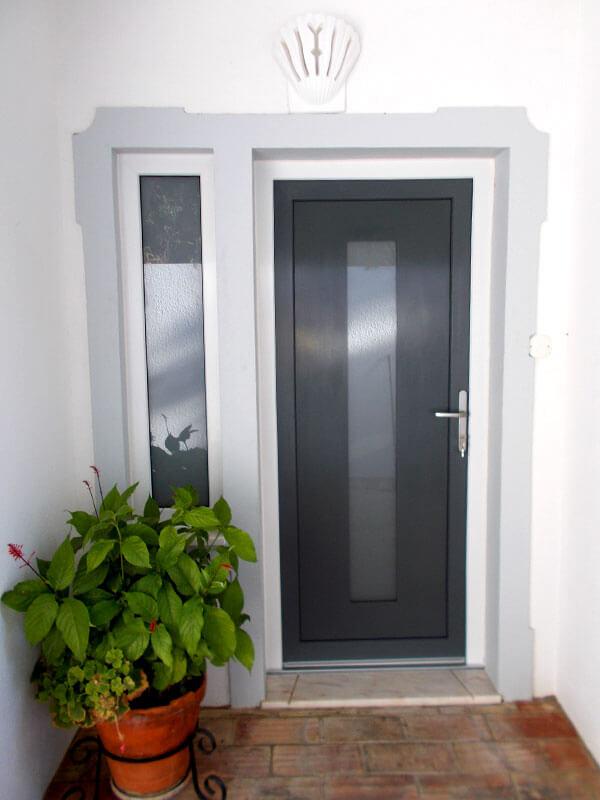 Portes Dentrée PVC Haut De Gamme Mestre Raposa France - Porte d entrée pvc vitrée
