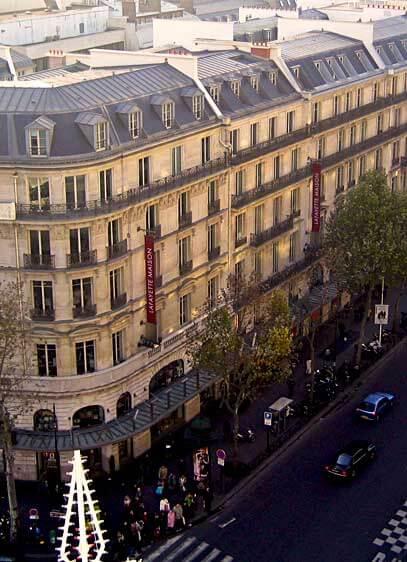 Boulevard Haussman, Paris