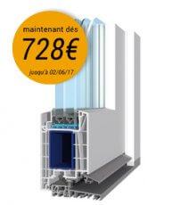 Profil de porte d'entrée PVC Salamander Brügmann 82 MD avec réduction de prix, maintenant dés 728€