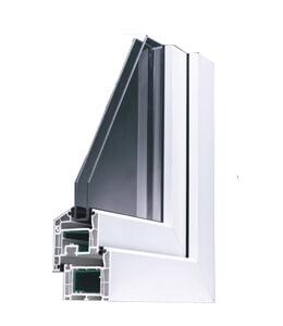 Profil de fenêtre en PVC Salamander Brügmann AD 73
