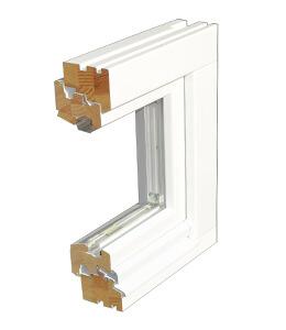 Profil de porte d'entrée en bois MR-IV 78 pin nordique
