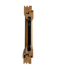 detail de face de fenetre bois standard