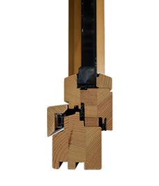 detail de fenetre bois standard
